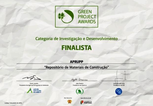 Diploma Green Project Awards