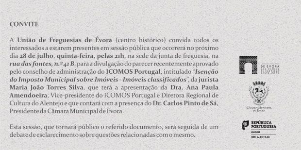 Convite Évora